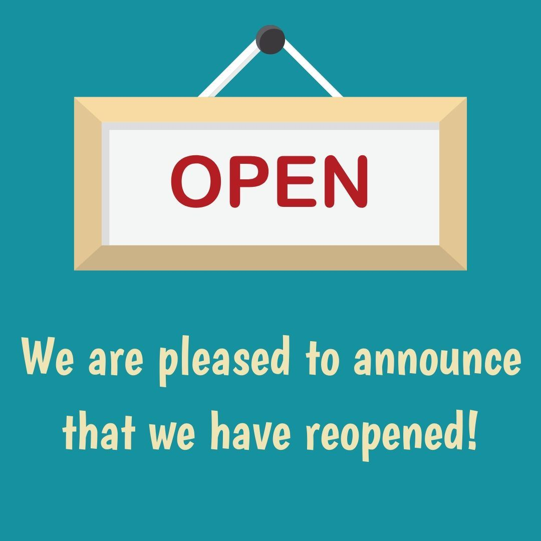 The library is now open!