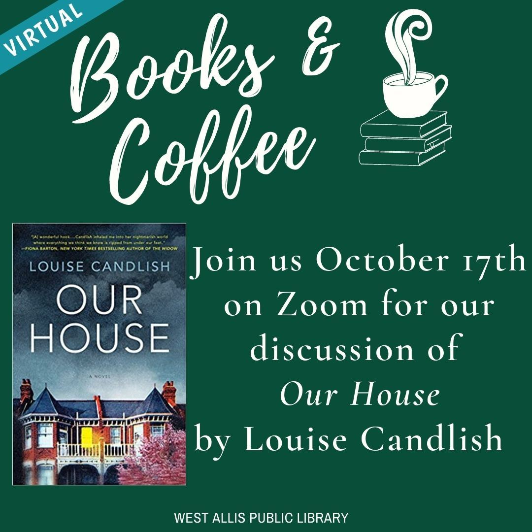 October 17th Books and Coffee